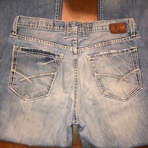 Buckle BKE Tyler bootcut jeans Sz 33R